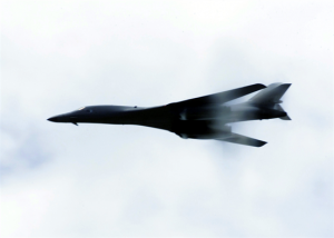 B-1B Lancer (USAF) (U.S. Air Force photo by Senior Airman Rebeca M. Luquin)
