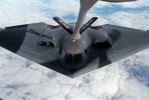 B-2 Spirit: New Aircraft in The Black Scorpion Pilot
