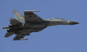 Chinese J-11 Fighter (Defense Dept. photo by U.S. Air Force Staff Sgt. D. Myles Cullen