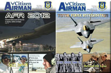 The Devil Dragon Pilot Featured in Citizen Airman Magazine