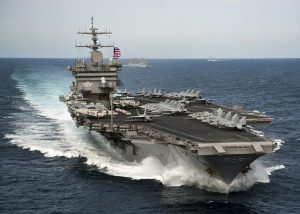Carrier Underway (Photo-US Navy photo by Mass Communication Specialist Seaman Harry Andrew D. Gordon/Released