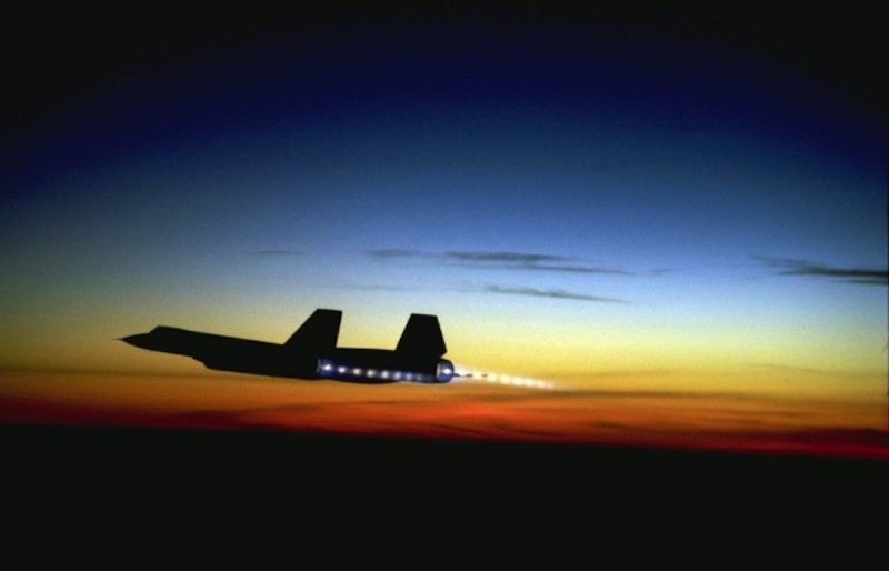 NASA just dropped a ton of rare footage of SR-71 Blackbirds