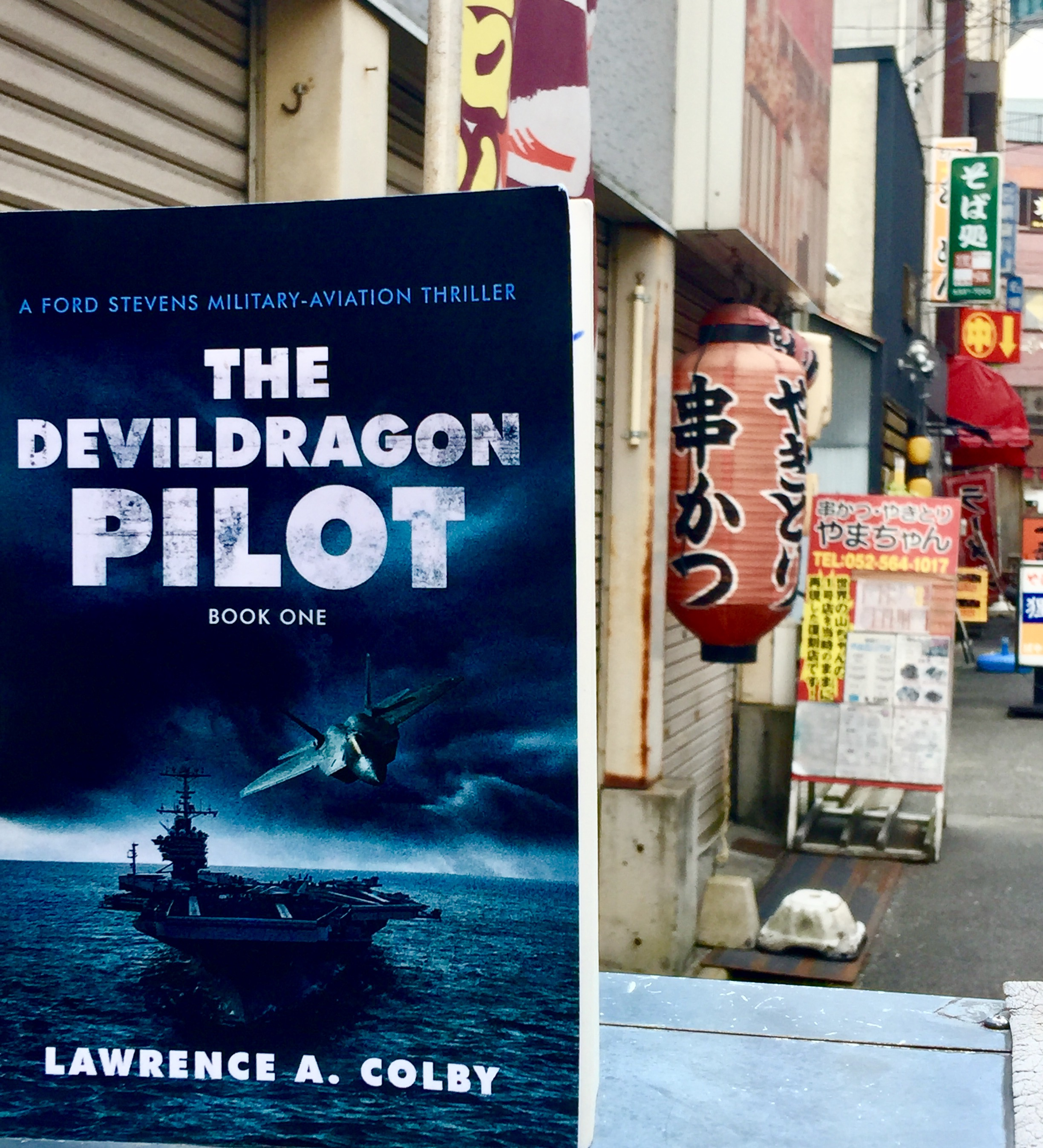 The Devil Dragon Pilot in Japan!