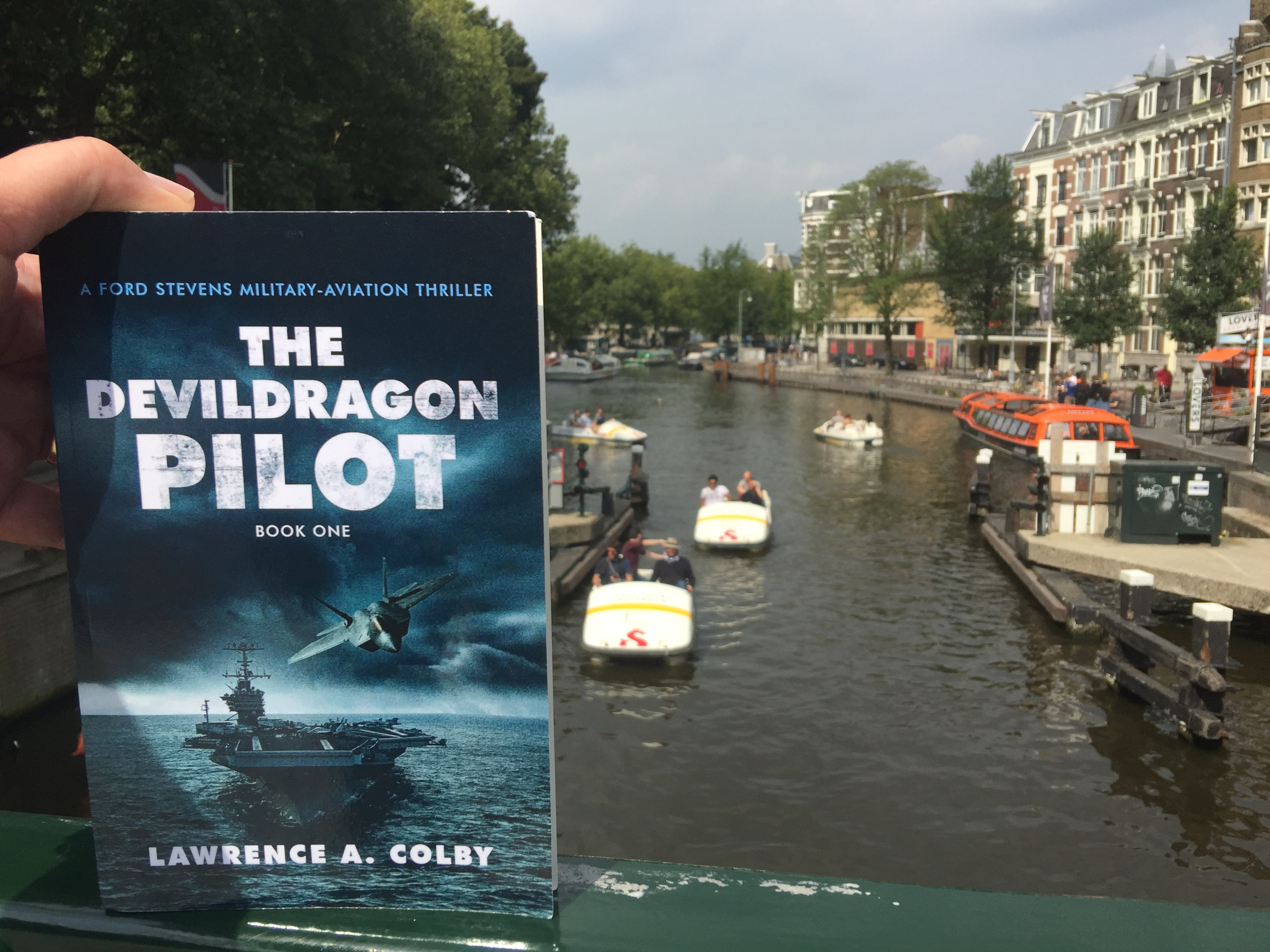 More Readers Post Pictures to The Devil Dragon Pilot Book Site
