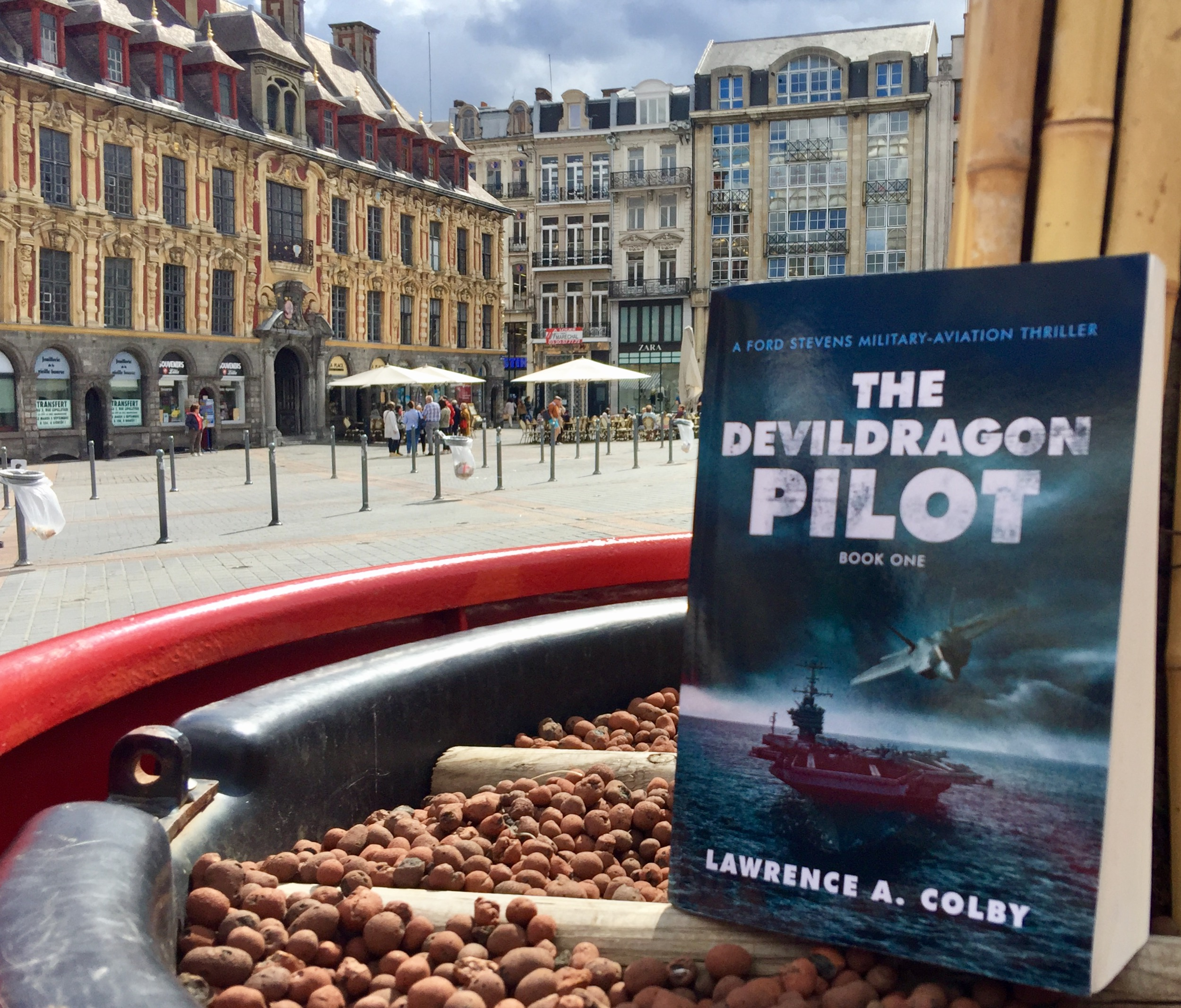 The Devil Dragon Pilot in France!