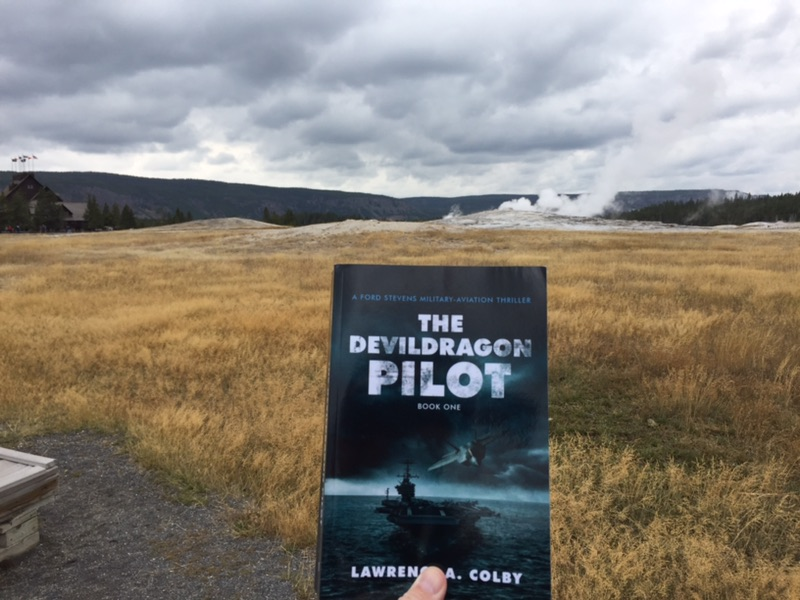 The Devil Dragon Pilot at Yellowstone National Park