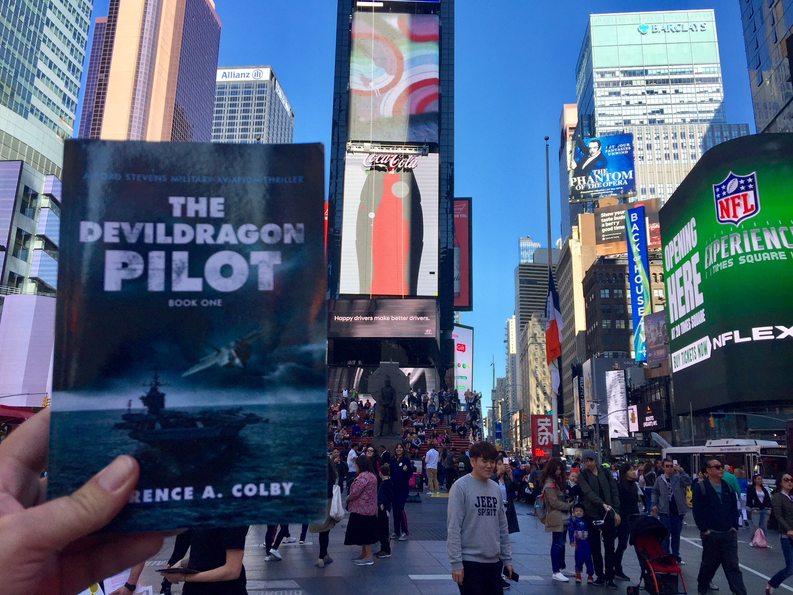 The Devil Dragon Pilot makes it to New York City!