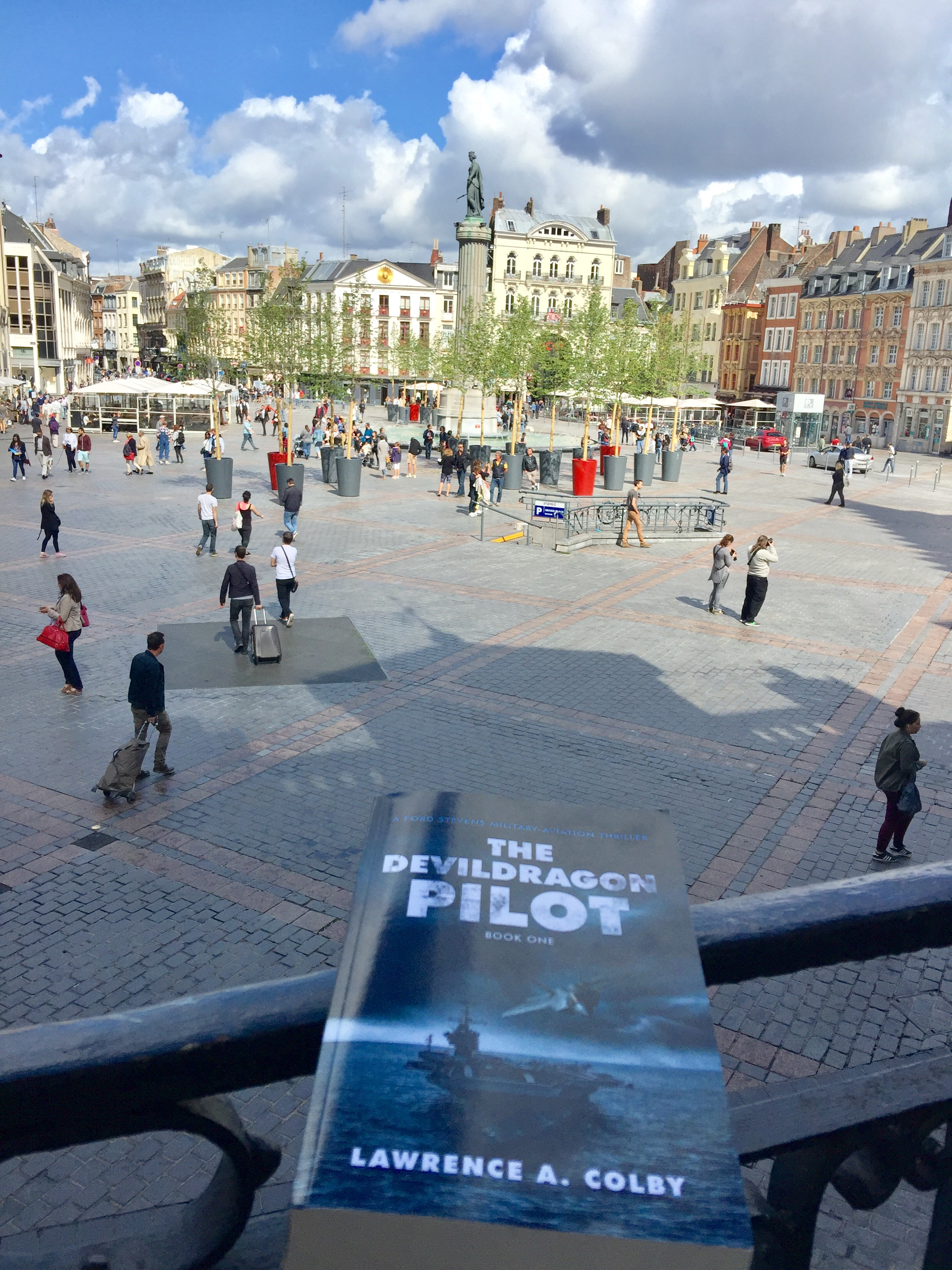 The Devil Dragon Pilot in Amsterdam, Netherlands!