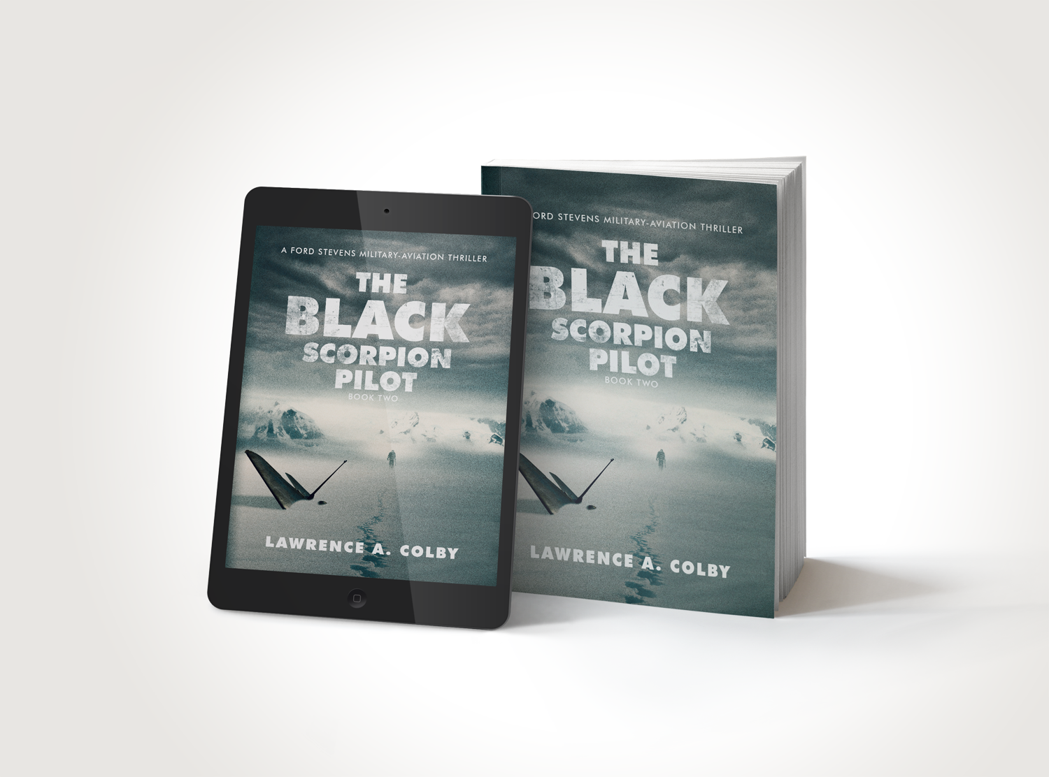 Announcing the new cover for The Black Scorpion Pilot – Book 2